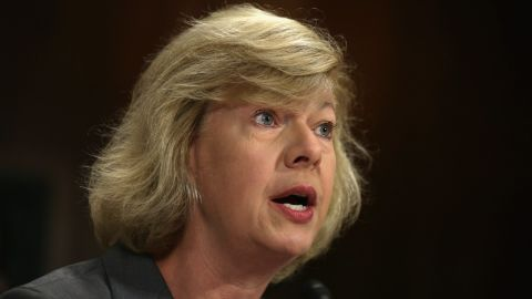 U.S. Sen. Tammy Baldwin, a Democrat from Wisconsin, is the first openly gay woman to be elected to Congress. She was elected to the House in 1999 and to the Senate in 2012.