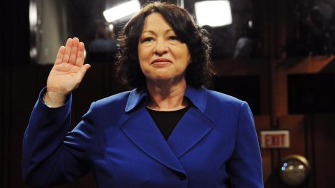 Sonia Sotomayor is the first Hispanic woman to serve on the Supreme Court. She was nominated by President Barack Obama in 2009.