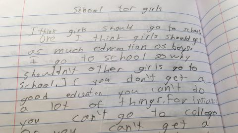 An essay written by my 8-year-old daughter