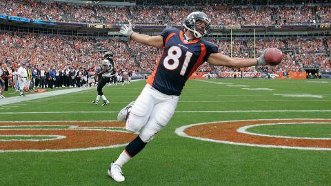 Former Denver Broncos player Nate Jackson said he medicated himself with cannabis.
