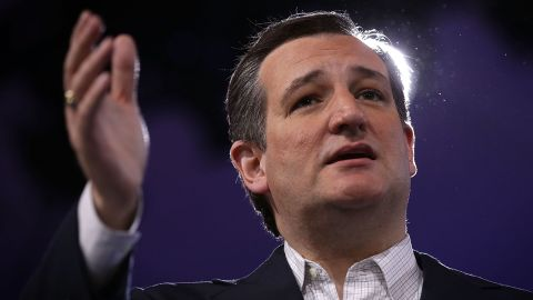 NATIONAL HARBOR, MD - MARCH 04:  Republican presidential candidate Sen. Ted Cruz (R-TX) speaks during CPAC 2016 March 4, 2016 in National Harbor, Maryland. The American Conservative Union hosted its annual Conservative Political Action Conference to discuss conservative issues.  (Photo by Alex Wong/Getty Images)