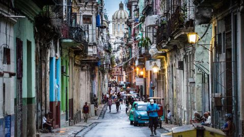 """The streets of Old Havana are full of texture and color, and Cubans are fiercely proud of their island's soul. """"Freedom, for me, goes beyond material things,"""" said one translator."""