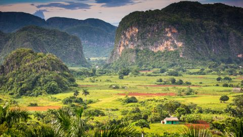Viñales, Cuba, is a UNESCO World Heritage Site and home to some of the world's most fertile soil, perfect for producing the tobacco used to make the country's prized cigars.