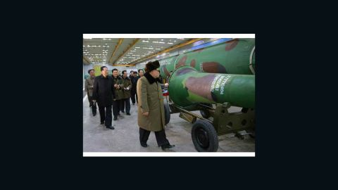 North Korean state media says the country has miniaturized nuclear warheads
