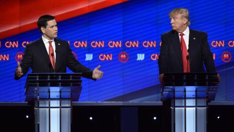 CNN Republican Debate at the University of Miami.