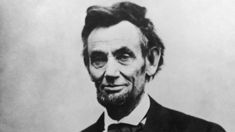 Abraham Lincoln, the 16th President of the United States of America.