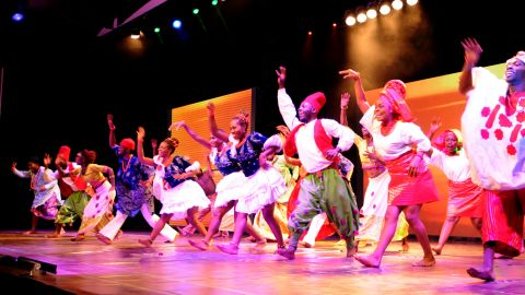 """It's the second musical by Austen-Peters, who first tried her hand at the genre two years ago with """"Saro."""" The musical tells the story of a group of Nigerian graduates, tracing their paths after making a wager at their ceremony. A satire and social commentary, it addresses issues faced by millennial Nigerians and their wider political context."""
