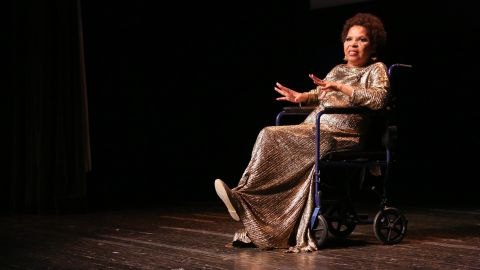 """""""For Colored Girls Who Have Considered Suicide/When the Rainbow is Enuf"""" is one of the most acclaimed plays to come from the 1970s. Written by American Ntozake Shange (above), it was adapted for Nigerian audiences by Wole Oguntokun and staged in2011, before being revived in 2014."""