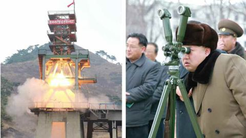 """Kim Jong Un has reportedly ordered ballistic rockets tests to """"enhance the reliance of nuclear attack capability."""""""