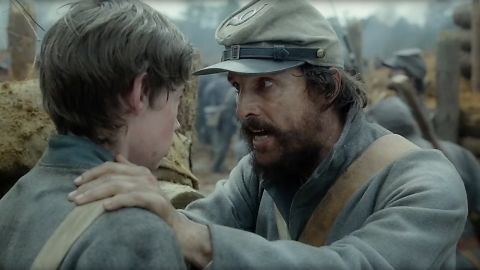"""Matthew McConaughey stars in the historical drama """"The Free State of Jones,"""" about a Confederate veteran who tires of the Civil War and helps create his own community. The film opens June 24."""