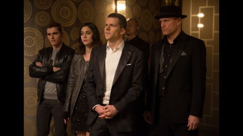 """""""Now You See Me,"""" about a gang of magicians who pull off a heist, was a surprise hit in 2013. In """"Now You See Me 2,"""" the gang now has to deal with Daniel Radcliffe as a villainous tech mogul. Don't they know he can cast a spell? Opens June 10."""