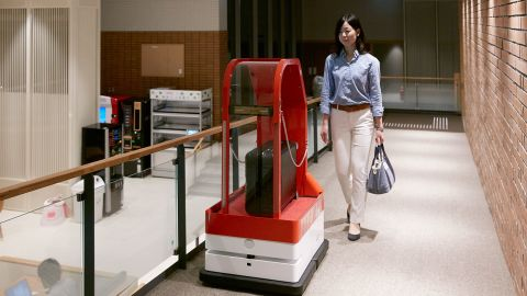 """Travelzoo's European president, Richard Singer, points out that the Japanese robot hotel has humans working behind the scene. """"I would be very surprised if we get to the point where hotels are entirely manned by robots."""""""