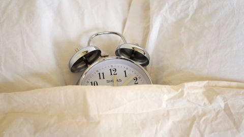 Picture taken on October 29, 2010 in Paris of an alarm clock, as Europe moved to winter time at 0100 GMT on October 31, when clocks move back one hour. Clocks change in North America on November 7.        AFP PHOTO / JEFF PACHOUD (Photo credit should read JEFF PACHOUD/AFP/Getty Images)
