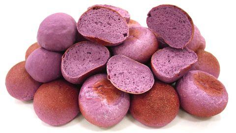 Purple bread.