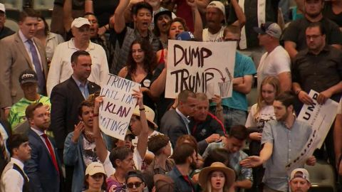 trump aide protester altercation raw_00001120.jpg