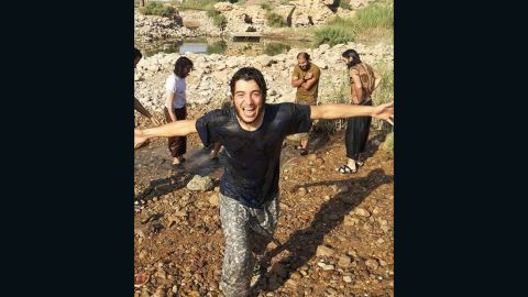 Geraldine Henneghien's son Anis was killed in Syria in 2015