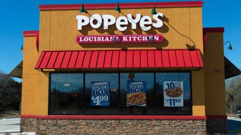 A teen helped stop a robbery that took place while he was interviewing for a job at a New Orleans Popeyes restaurant.