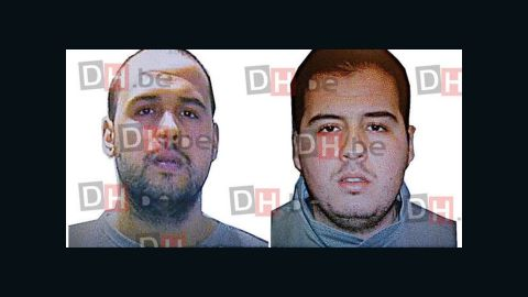 Brothers Khalid, left, and Ibrahim El Bakraoui are suspected in the attacks.
