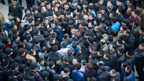 Labor protests and strikes are on the rise in China.