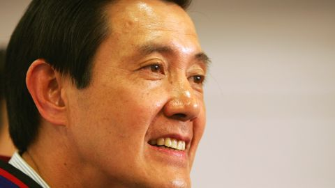 TAIPEI, TAIWAN - MARCH 21:  Taiwan's presidential candidate of the opposition Nationalist Party Ma Ying-jeou smiles during a news conference on March 21, 2008 in Taipei, Taiwan, on day before the presidential elections, Ma urged his supporters to stay cool in front of his opponent's dirty tricks.  (Photo by Andrew Wong/Getty Images)