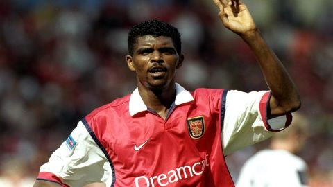 16 African players have been part of Wenger's Arsenal teams. Nigerian forward Nwankwo Kanu was one of those, and was signed by Wenger in 1999.