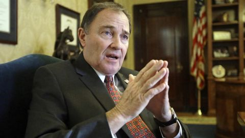 Gov. Gary Herbert signed a bill making  Utah the first state to require doctors to give anesthesia to women having an abortion at 20 weeks of pregnancy or later.