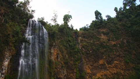In addition to 14 waterfalls -- including the 100-meter high Barta falls -- throughout the forest reserve, there are hot springs and natural bridges formed through erosion by wind and water.
