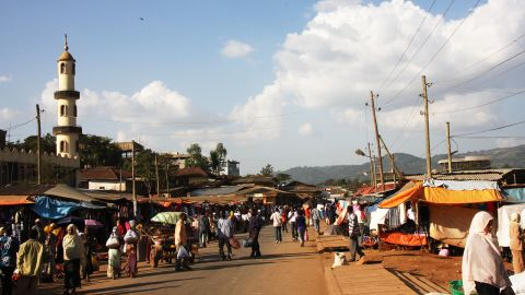 North of Bonga lies the city of Jimma. The administrative capital of the Kaffa region, it has a large Muslim population.