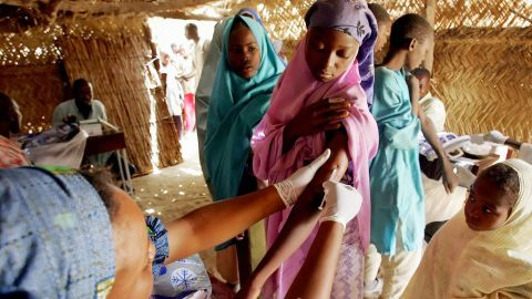 """Nigeria is one of the 26 countries within the """"meningitis belt"""" of sub-Saharan Africa."""