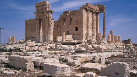 """<strong>Before:</strong> The ruins of the 2,000-year-old Temple of Baalshamin are seen in Palmyra, Syria, in 2007. The ISIS militant group took over the ancient city last year and razed parts of its <a href=""""http://whc.unesco.org/en/list/23"""" target=""""_blank"""" target=""""_blank"""">World Heritage Site.</a> Syrian government forces recaptured the ancient city from the terror group in March 2016. Click through to see the landmarks before and after ISIS' occupation."""