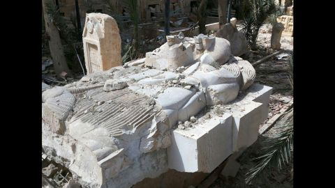 """The Syrian directorate-general of antiquities and monuments was positive that the condition of artifacts meant that they could be restored and their """"historic value"""" returned, according to a translation of an article on the <a href=""""http://www.dgam.gov.sy/index.php?d=314&id=1957"""" target=""""_blank"""" target=""""_blank"""">department's website.</a>"""