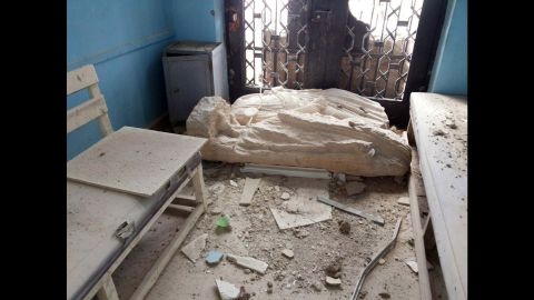 By June, ISIS began destroying historical sites.