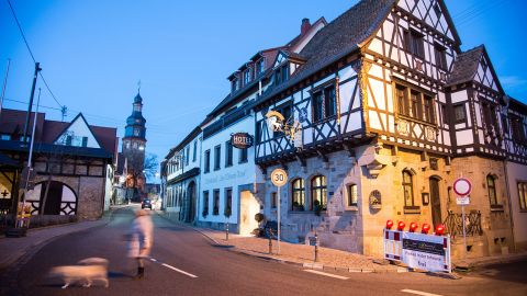 """Kallstadt is Trump's German ancestral home. However, when Deutsche Welle contacted Trump's distant relations they elicited little more on the record than, """"<a href=""""http://www.dw.com/en/what-trumps-ancestral-village-in-germany-has-to-say-about-him/a-19088834"""" target=""""_blank"""" target=""""_blank"""">Hopefully this hype will ease up soon</a>."""""""