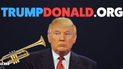 Mock him all you like Sweden -- this popular Swedish site allows people to give the Donald a blast of trump(et) -- Trump won't stop loving you.