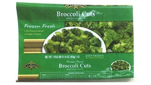 """A company is voluntarily<a href=""""http://www.fda.gov/Safety/Recalls/ucm493849.htm#recall-photos"""" target=""""_blank"""" target=""""_blank""""> recalling frozen broccoli cuts</a> sold in 11 states over fears of listeria contamination, the Food and Drug Administration said on April 1."""