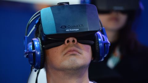 """Oculus VR, owned by Facebook, are the makers of arguably the most talked-about VR headset, the <a href=""""http://money.cnn.com/2016/01/04/media/oculus-rift-preorders-ship-date/"""">Oculus Rift</a>. It has recently launched for $599, but like most headsets it requires a powerful PC to operate."""