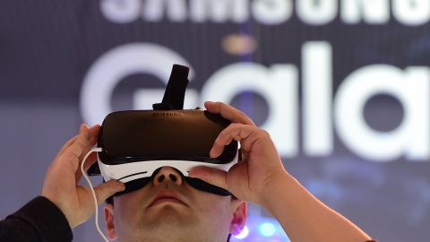 """Oculus VR has teamed with Samsung to develop a headset for use with Samsung smartphones, the <a href=""""http://money.cnn.com/2015/11/20/technology/samsung-gear-vr/"""">Gear VR</a>. At $99 it is a cheaper option that will work out of the box."""