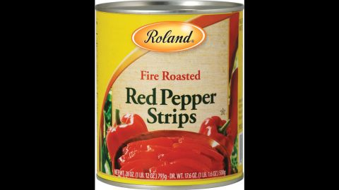 """Roland Foods issued an unrelated recall of fire-roasted red pepper strips, also because of possible glass fragments, the <a href=""""http://www.fda.gov/Safety/Recalls/ucm493852.htm"""" target=""""_blank"""" target=""""_blank"""">company said in a statement.</a>"""