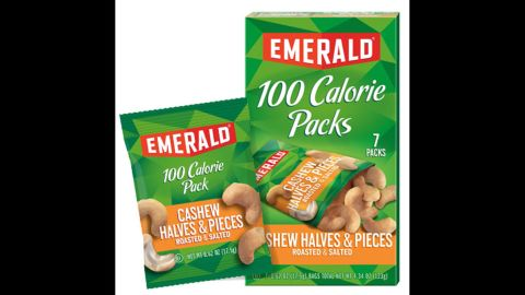 """The company that owns Emerald-brand nuts is recalling 100-calorie packages of roasted and salted cashew halves and pieces. The packages <a href=""""http://www.cnn.com/2016/04/04/health/glass-fragments-recall-peppers-cashews/"""" target=""""_blank"""">are being recalled</a> """"due to the possible presence of small glass pieces,"""" the company said on Friday, April 1. No injuries have been reported, but the recall was issued out of an abundance of caution following a consumer complaint."""