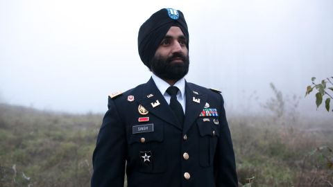 Capt. Simratpal Singh is a decorated combat veteran.