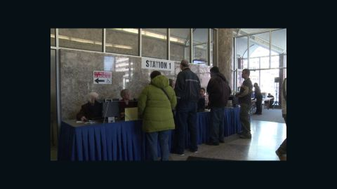 Around 8,000 people voted during Milwaukee's early voting period.