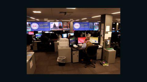 The operations center of the Terrorist Screening Center