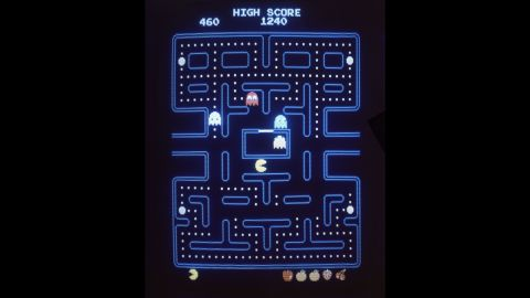"""<strong>'Pac-Man' fever takes hold:</strong> The video game """"Pac-Man"""" -- featuring a hungry protagonist that must evade ghosts on his quest to eat tiny, white dots -- hit American arcades in October 1980 and became almost an instant success. Parent company Bandai Namco Entertainment sold more than <a href=""""http://www.cnn.com/2010/TECH/05/21/pac-man.game.anniversary/"""" target=""""_blank"""">100,000 arcade units</a> within 15 months. Its first name, """"Puck-man,"""" came from the Japanese """"paku,"""" or """"to chomp."""""""