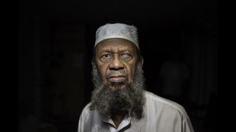 """Hassan Abdul Gafur, one of the few thousand Muslims in Cuba, converted to Islam in 1994. Photographer Joan Alvado said the Muslims he met in Cuba were converts. """"Many of them were Christians before or some other religion, or a few of them were atheists as well,"""" Alvado said."""