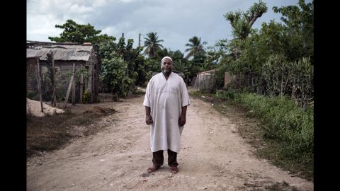Osman Reyes became a Muslim in June. He used to practice Santeria. He lives with his family on the outskirts of Camaguey, Cuba.
