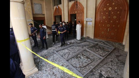 """ISIS also claimed responsibility for what it called a suicide bombing <a href=""""http://www.cnn.com/2015/06/26/world/kuwait-mosque-attack/"""" target=""""_blank"""">at the Al-Sadiq mosque</a> in Kuwait City on June 26, 2015. At least 27 people were killed and at least 227 were wounded, state media reported at the time. The bombing came on the same day as the attack on the Tunisian beach."""