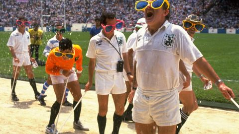 Dating back over 40 years ago, it is one of the most iconic events on the rugby calendar, with everyone -- even the referees (pictured) -- willing to embrace the tournament's festive spirit.