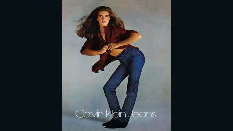 Brooke Shields set the tone for Calvin Klein's long history of controversial, raunchy advertising at the beginning of the 1980s.