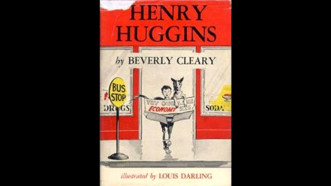 """Beverly Cleary's first book, """"Henry Huggins,"""" was published in 1950 and quickly became a hit. Click through to see early-edition covers of other Cleary hits."""