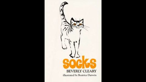"""A cat named Socks has all the love he needs from his owners, the Brickers, until a new baby enters his life in 1973's """"Socks."""" Now, he must share their attention with baby Charles William, and he starts getting into lots of scrapes to get more attention."""